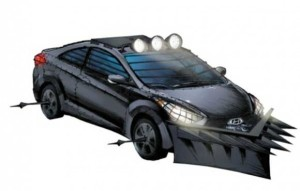 2013 Hyundai Elantra Coupe zombie survival machine concept car
