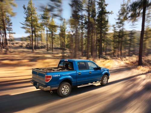 blue 2012 Ford truck F-150