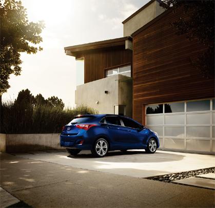2013 Hyundai Elantra GT blue