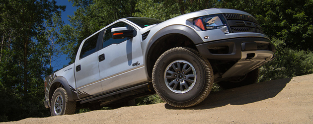 "2013 Roush Raptor in ""Terrain"" white"