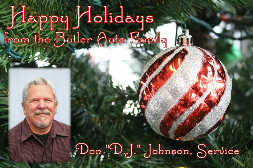 Holiday Don DJ Johnson