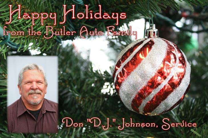 Holiday Don DJ Johnson
