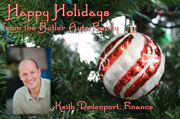 Holiday Keith Devenport