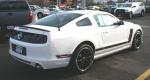 2013 Mustang Boss 302, white