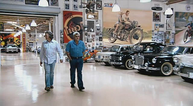 The ultimate garage:  Jay Leno's
