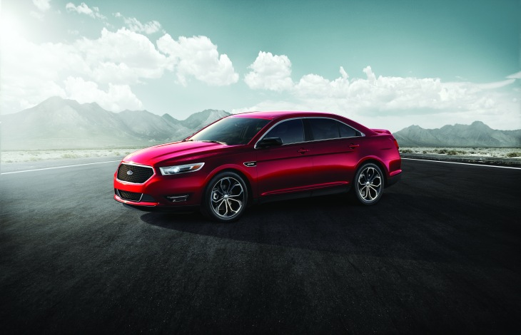The 2013 Ford Taurus, a U.S. News 'Best Car for the Money' pick.