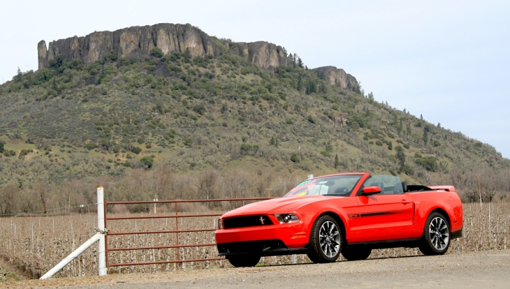 2012 Mustang ragtop