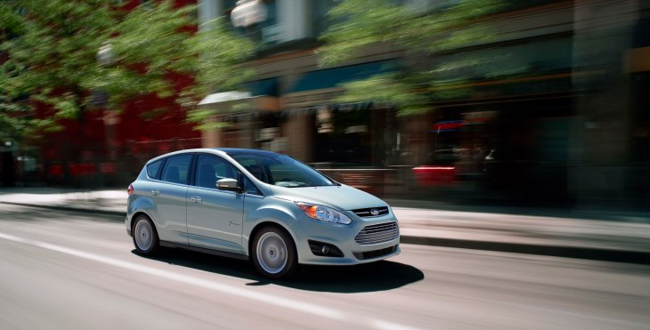 "The Ford C-Max, one of Kbb's ""Top 10 Fuel Efficient Cars of 2013""."