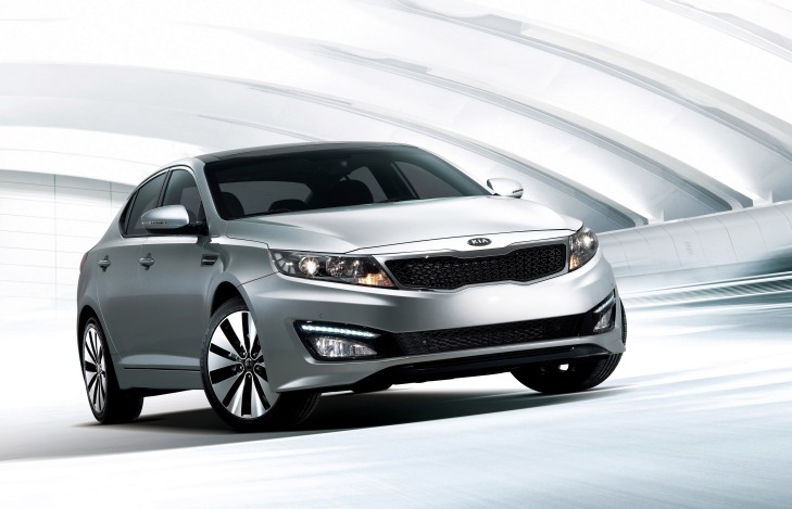 The 2011 Kia Optima is included in the recall.
