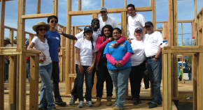 Hyundai teams with Habitat for Humanity.