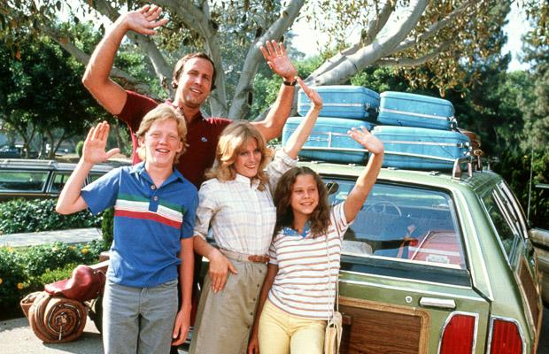 "The Griswold family hits the road in ""National Lampoon's Vacation"""