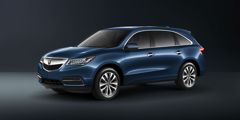 2014 Acura Mdx Blue