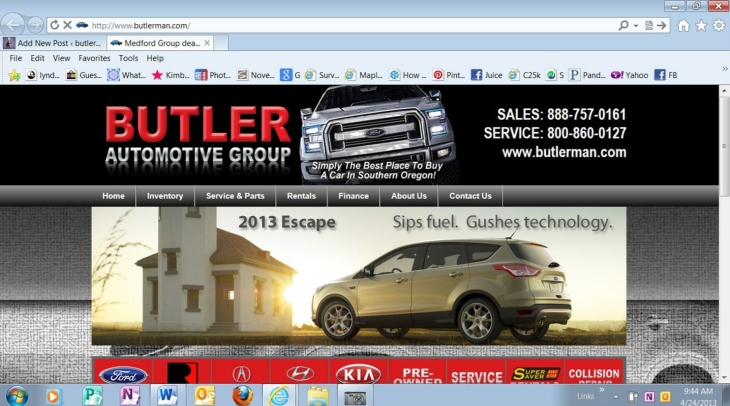 Have you visited www.butlerman.com recently?