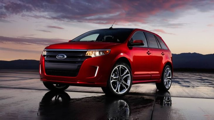 2013 Ford Edge, one of the brand's popular models.