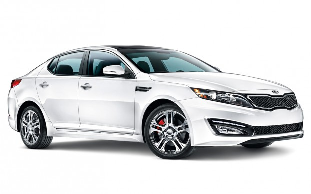 "2012 Kia Optima, a ""Best Car for College Grads"""