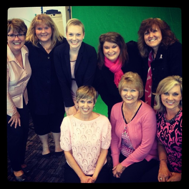 From left:  Linda Butler, Karen Fronek, Kendall Joy, Connie Eaton, Janie Deuwan, Shannon Young, Lila Hampton, Becky Toreson
