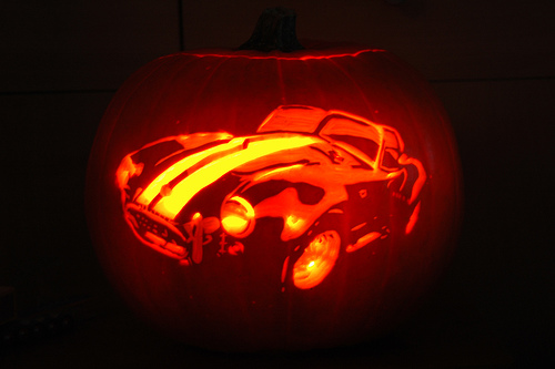 bmw pumpkin carving stencil