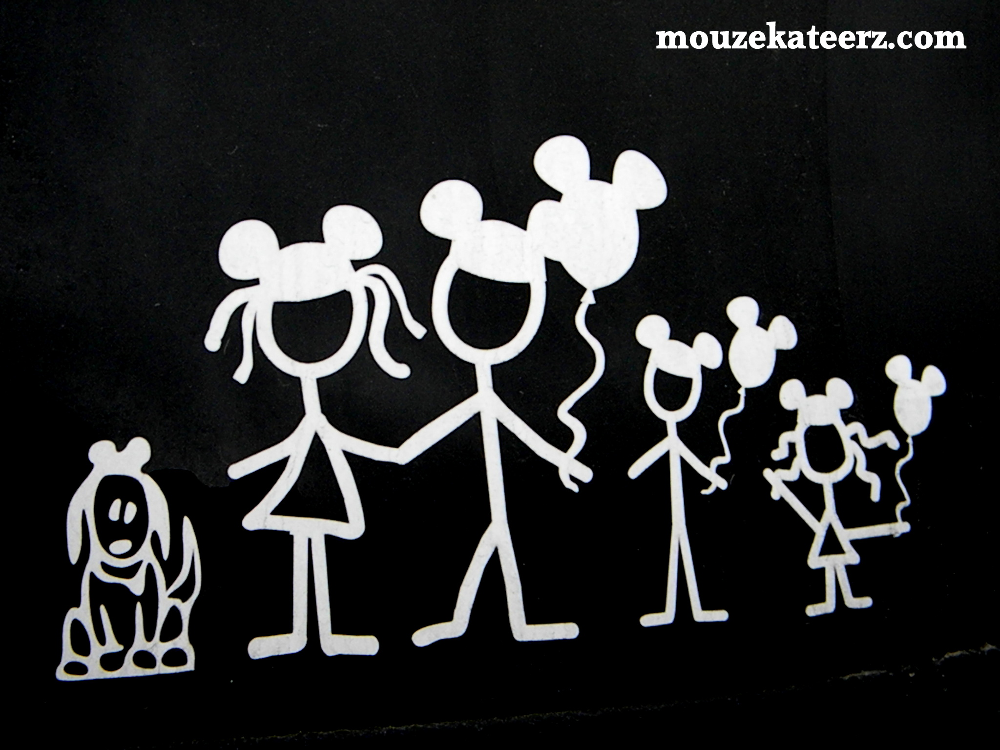Stick Figure Family Decals Get Personal Butler Auto