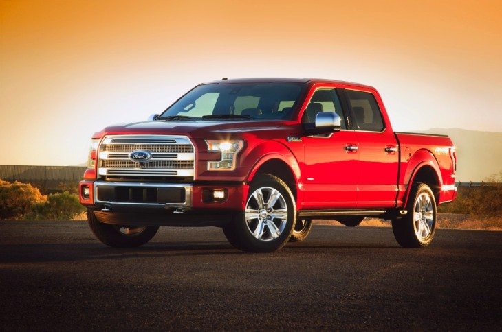 The all-new 2015 Ford F-150