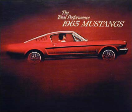 1965 Ford Mustang:  Identifiable from every angle