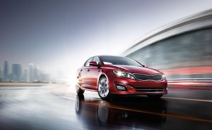 Kia Optima, the new face of Kia