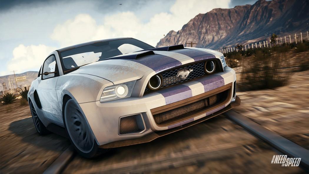Aaron Paul Need For Speed Mustang