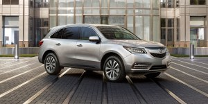 "The 2014 Acura MDX, one of Edmunds' ""Top Rated"""
