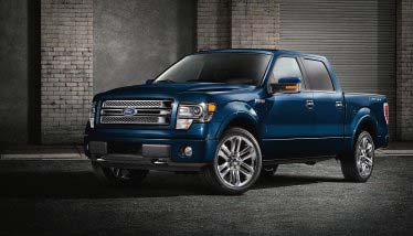 Military families own more Ford F-150s than any other vehicle