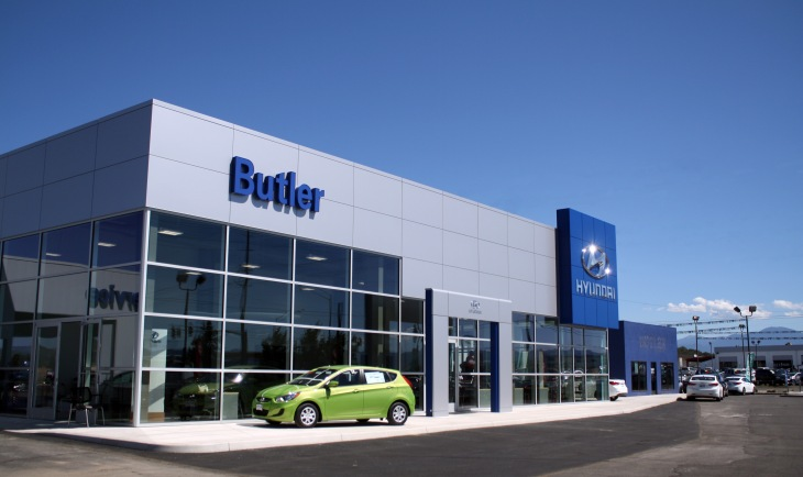 Come see Butler Hyundai's new showroom!