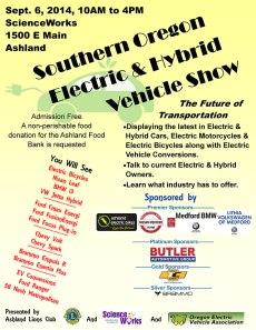 EV show poster