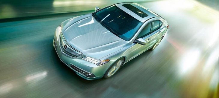 2015 Acura TLX with Super Handling All Wheel Drive (SH-AWD)