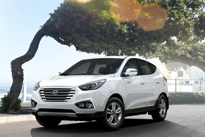 2015 Hyundai Tucson Fuel Cell